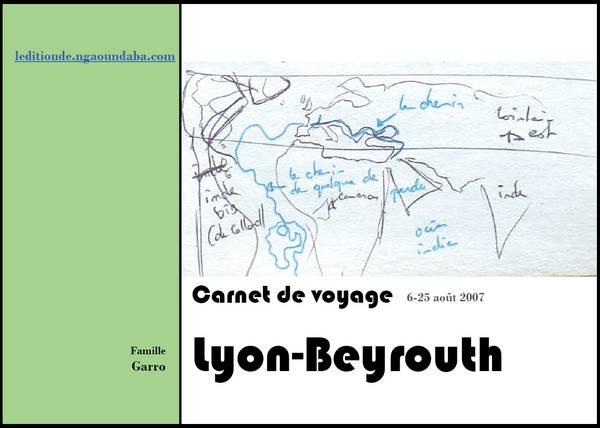 Catalogue for Carnet de voyage restaurant lyon